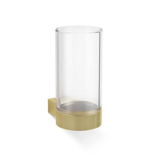 Decor Walther Club WMG Стакан подвесной, прозрачное стекло, цвет: золото матовое