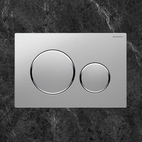 Кнопка Geberit Sigma20 матовый хром