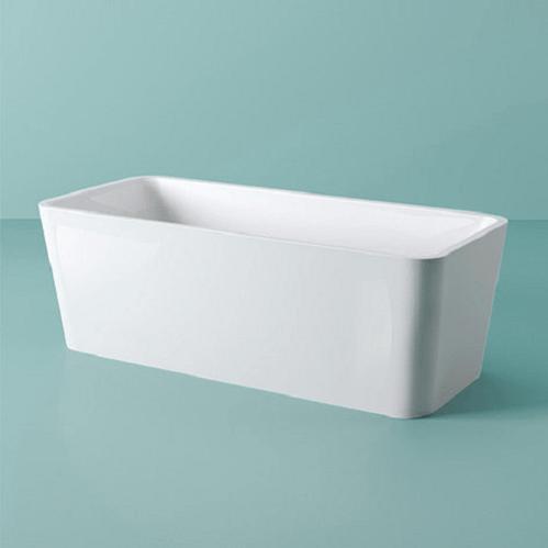 Ванна ArtCeram SQUARE отдельностоящая