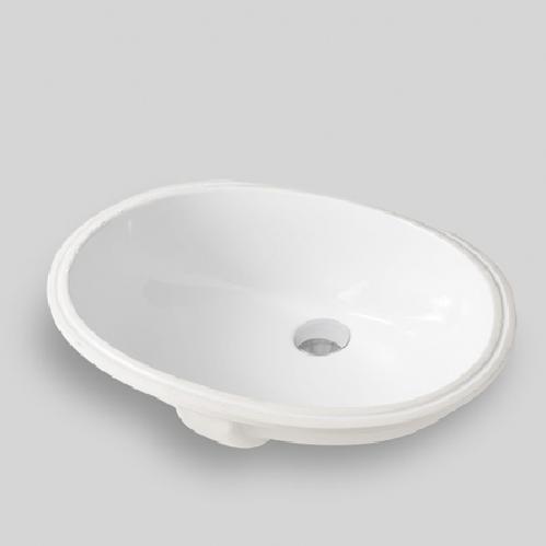 Раковина встраиваемая снизу ArtCeram Diana 57х40 см, цвет белый