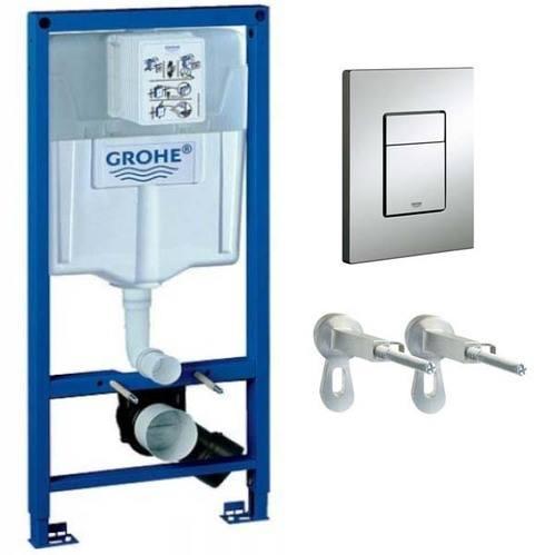 Система инсталляции для унитазов Grohe Rapid SL 3 в 1 с кнопкой смыва
