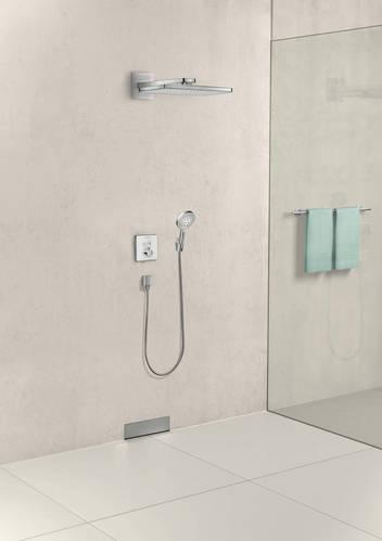 FixFit Шланговое подсоединение Square с клапаном обратного тока шлиф. бронза