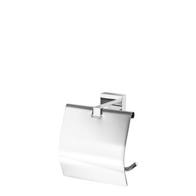 Держатель для туалетной бумаги с крышкой Omnires LIFT