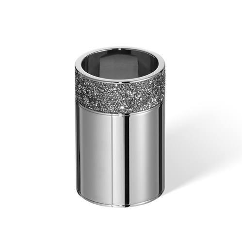 Decor Walther Rocks BOD1 Стакан настольный, с кристаллами Swarovski, цвет: хром