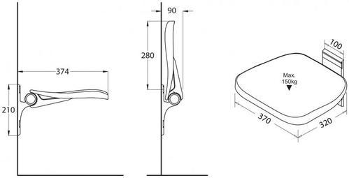 Унитаз подвесной с сиденьем и крышкой LAUFEN PRO