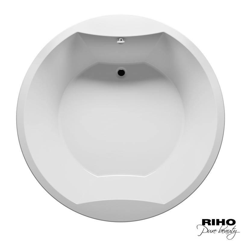 Акриловая ванна Riho Colorado 180x180, врезная
