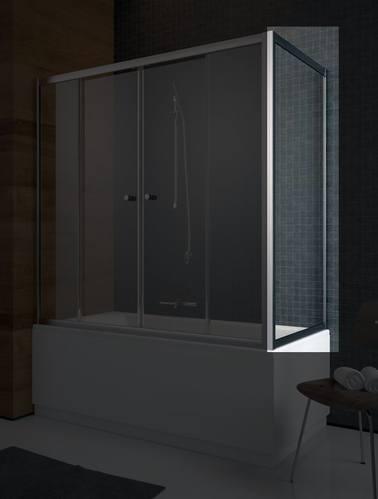 Боковая стенка Radaway Vesta S, 75*150 см