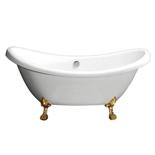 Акриловая ванна Belbagno  182,5х75 см золото