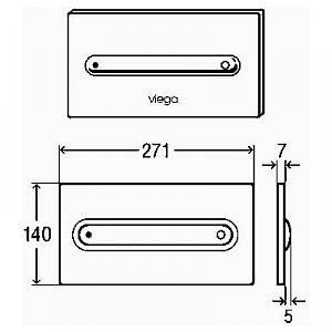 Viega Клавиша смыва Visign for Style 11 бронза модель 8331.1