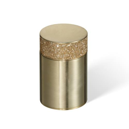 Decor Walther Rocks BMD1 Баночка универсальная ,с кристаллами Swarovski, золото матовое