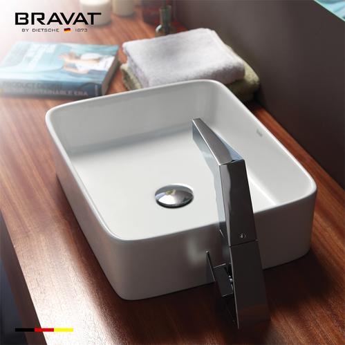 Накладная раковина Bravat 48,5*37,5 см