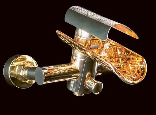 Смеситель для ванны Boheme HYPNOSE золотой