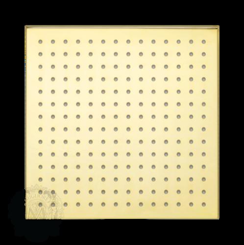 Migliore Corner X7 Верхний душ, 250x250 мм, золото