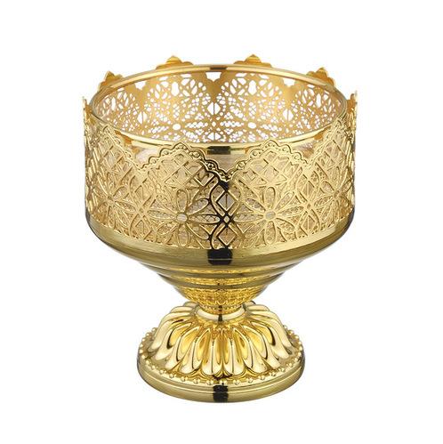 Migliore Luxor мыльница настольная, стекло/латунь (золото)