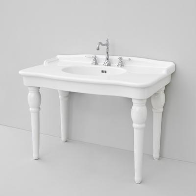 Раковин подвесная Artceram HERMITAGE 112х63 см, цвет белый