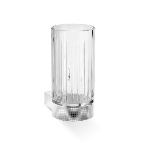 Decor Walther Club WMG Стакан подвесной, граненое стекло, цвет: хром