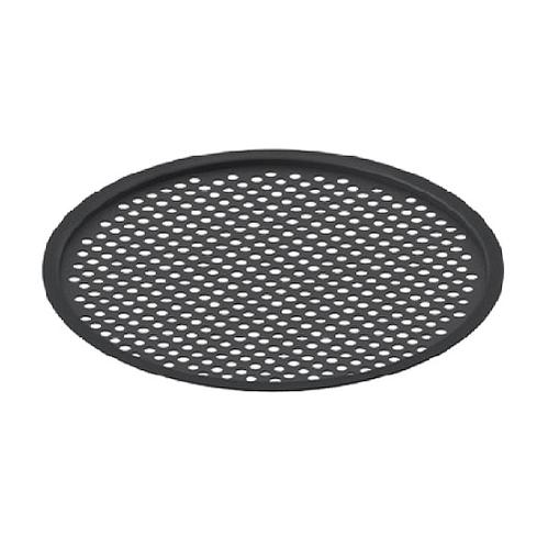 Сетчатая полка ArtCeram для круглой напольной консоли, цвет черный/белый