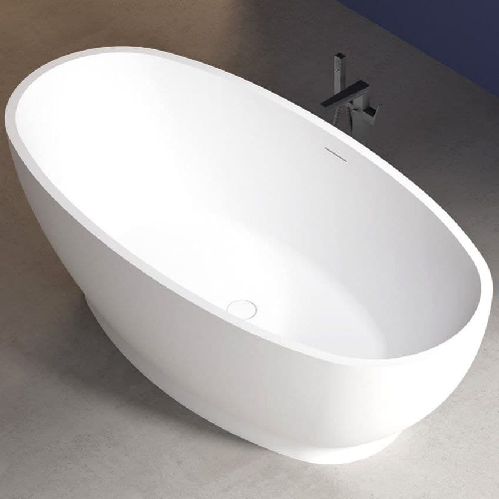 Акриловая ванна ABBER 165*80, белая