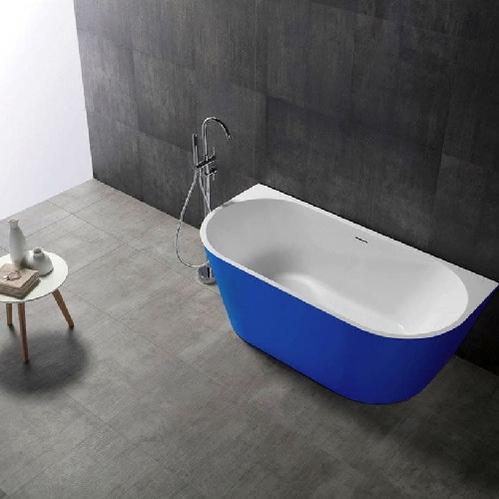 Акриловая ванна ABBER 170*80 синяя