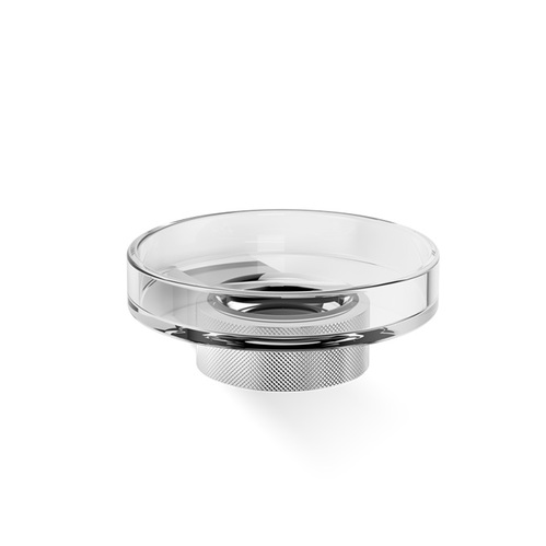 Decor Walther Club WSS Мыльница подвесная, прозрачное стекло, цвет: хром