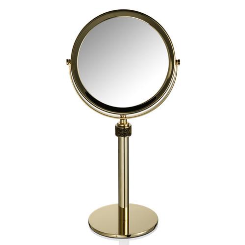 Decor Walther Rocks SP 13/V Косметическое зеркало на подставке, с кристаллами Swarovski, цвет: золото