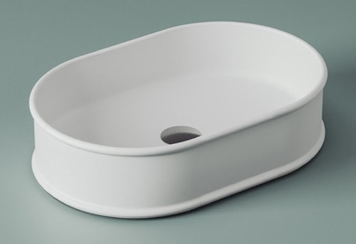 Раковина ArtCeram Atelier настольная 60х40 см, цвет белый