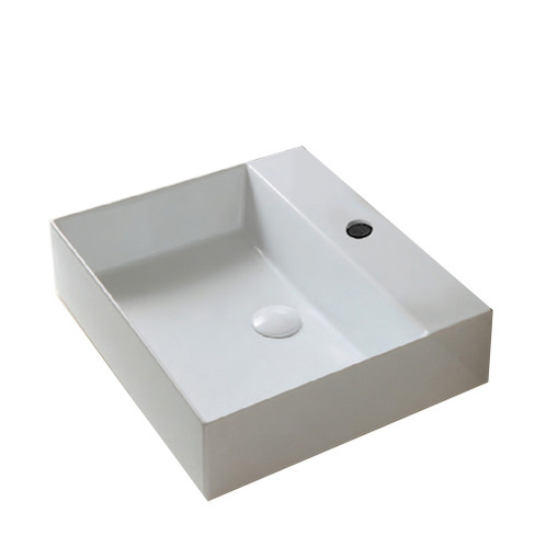 Раковина накладная/подвесная AZZURRA ELEGANCE 60х45см, цвет белый
