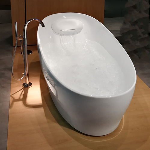 TOTO NEOREST Ванна 220x105x78см, отдельностоящая, с гидро и аэро-массаж, эффект невесомости, цвет: белый