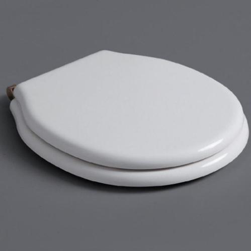 SIMAS Londra Сиденье для напольного унитаза, белый петли бронза микролифт