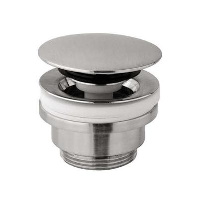 Донный клапан Paffoni Light click-clack (нержавеющая сталь)
