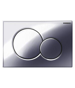 Кнопка смыва Geberit Sigma 01  хром