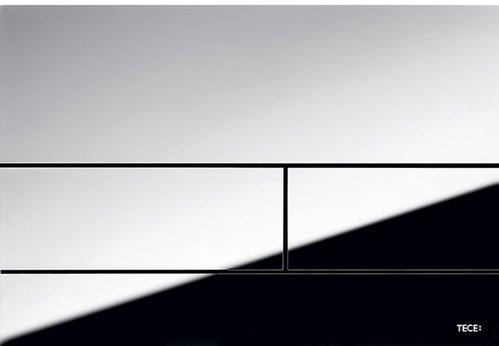 Кнопка смыва Tece Square II металл 3 мм