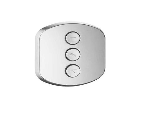 Встраиваемый 3-х позиционный кнопочный переключатель Cezares
