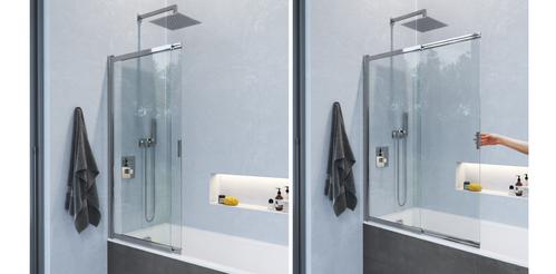 Шторка на ванну Excellent Liner 110x140