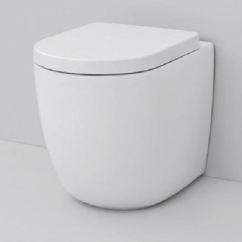 Унитаз напольный ArtCeram File 2.0 Rimless 36x52 см, цвет белый