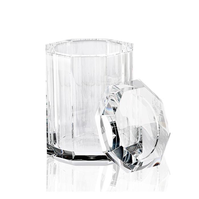 Decor Walther Kristall BMD Баночка универсальная , с крышкой, хрустальное стекло