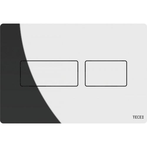 Клавиша смыва TECE Solid с двойной системой смыва, хром глянцевый, металл