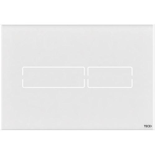 Кнопка смыва Tece Lux Mini сенсорная белая