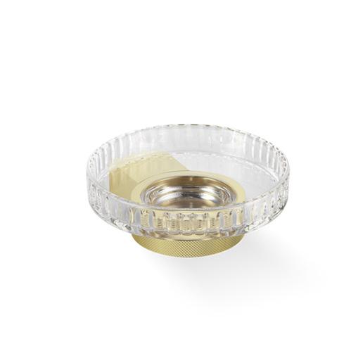 Decor Walther Club WSS Мыльница подвесная, граненое стекло, цвет: золото матовое