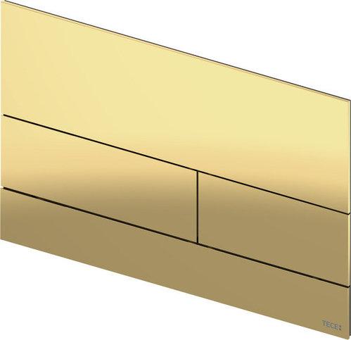 Металлическая панель смыва унитаза TECEsquare II для системы с двойным смывом, материал металл