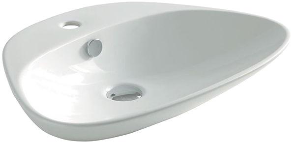 Раковина накладная Artceram PLETTRO QUADRO 59х45 см, цвет белый