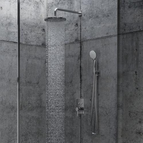 Верхний душ Omnires SlimLine 25см