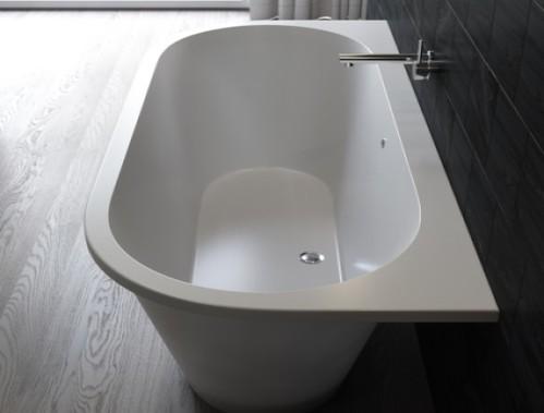Ванна каменная Galatea 170x77, белый мат