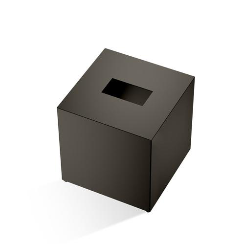 Decor Walther Cube KB 83 Диспенсер для салфеток 13.3x13.3x13.5см, цвет: черный матовый/темная бронза/золото/хром