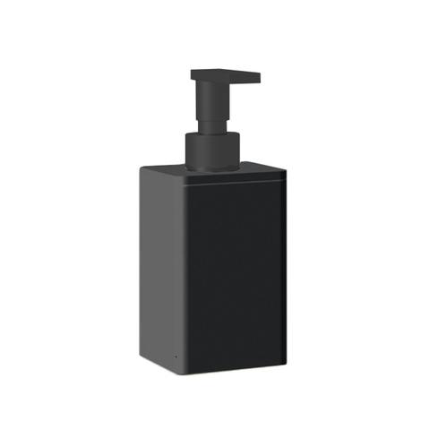 Bertocci Fly Дозатор из композита, настольный, цвет: черный матовый/черный матовый