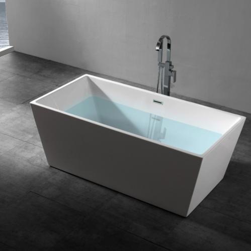 Ванна акриловая Abber прямоугольная