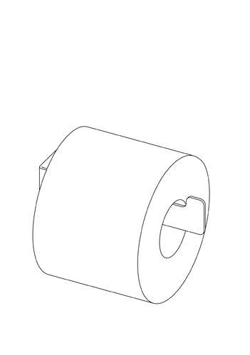 Держатель для туалетной бумаги Deante Mokko Nero