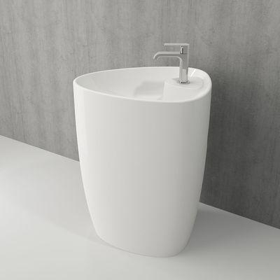 Умывальник напольный Bocchi Etna 58x43.5 см, с отверстием под смеситель
