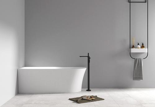 Акриловая ванна ABBER 150*78 пристенная