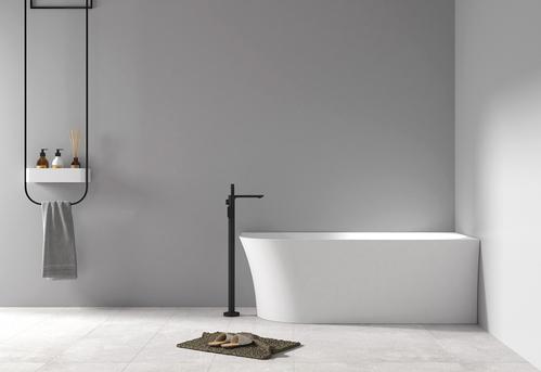 Акриловая ванна ABBER 150*78*60 пристенная